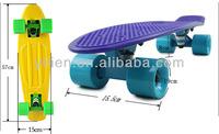 2014 new brand customized pu wheel.led wheel for skateboard