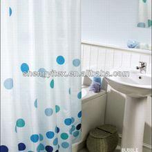 Eco-friendly EVA round circle Bath/Shower Curtain For Bathroom