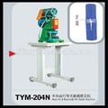 Tym-204n semi- auto de nylon con cremallera hit& parte trasera pin máquina de setter