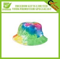 Custom Streetwear Tie Dyed Bucket Hat
