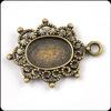 Popular sale metal brass jewelry pendant components