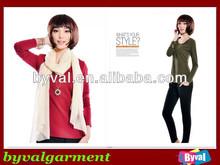 Hot Promotion!!!Wholesale Long Sleeve Women T shirt Women T shirt Wholesale China Cotton Long Sleeve Women Tee