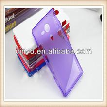 for sony xperia sp gel case, silicone tpu gel case for sony xperia sp m35h