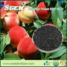 SEEK Bamboo Biochar Bamboo Power No. 1 Organic Fruit Specialized Fertilizers---Peach Growing