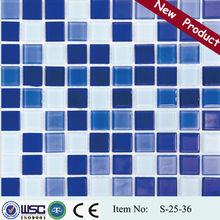HANSE 300x300 S2536 fiberglass mosaic tile mesh netting/mosaic metal tiles/brass mosaic tile