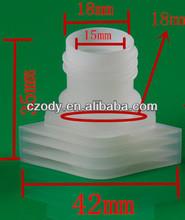 Retorted plástico bico cap
