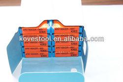 korloy carbide inserts /hard metal cutting tools /cnc turning insert APKT160432R-MM1 NCM325