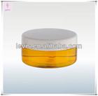 Plastic makeup jar