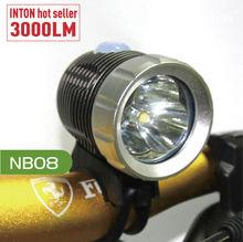 rechargeable colorful bike light !! INTON high brightness bike light clip NB08 CE RoHS