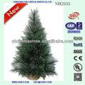vacaciones de vida artificial de árboles de navidad verde de los árboles de navidad para la decoración del hogar fabricante de china