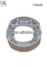 China manufacturer Motorcycle brake parts CG125 BRAKE SHOE for suzuki,yamaha,honda,piaggio, vespa,kawasaki,triumph, peugeot.