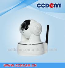 P2P H.264 IR CUT Home Use Support Iphone/3G/Andorid smartphone Control Wifi CCTV Camera
