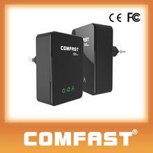 COMFAST CF-WP500M 500Mbps homeplug plc mini powerline ethernet adapter 500m