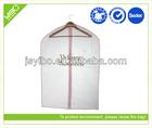 Wholesale reusable foldable PEVA clear garment bag suit cover with logo