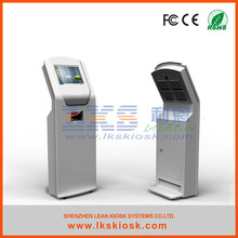 LKS advertising standee kiosk display stand with touch screen
