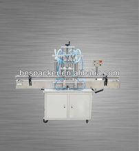 Automatic 4 heads juice/wine//milk/ beverage/ liquid filling machine