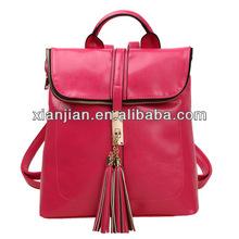 PU Leather Quick Slip Women Backpack (BHLT006)