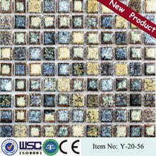 HANSE 300x300 Y2056 gem mosaic tiles/tidal series ceramic mosaic tile/chocolate mosaic tiles