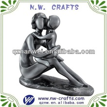 Resin figurines mother and son
