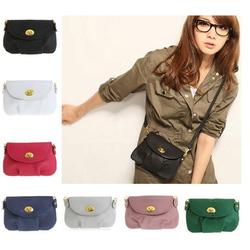 2014 spring leather messenger magazine clutch purse cross body bag