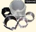 6063 t5 anodizado de aluminio de perfil tubular de motor para el cuerpo