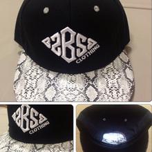 leather strap back hats/leather snapback/baby hat snapback cap