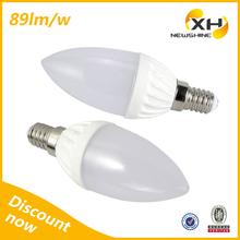 Energy Saving High Power 180 Degree Ceramic 3W Led Lamps Bulb E14