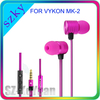 High Quality Earphone with Mic for Cellphone
