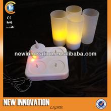 Led Rechargeable Tealight Christmas Light Set