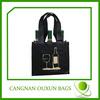 Rational construction non woven fabric bottle wine bag