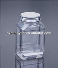 New Custom 550G Plastic Pet Bottle and Plastic Pet Jar with Aluminum Seal Cap
