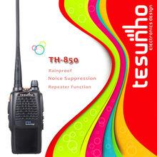 practical commiunication mobile radio TESUNHO TH-850 Walkie Talkie Built-in Led flashlight guard two way radio