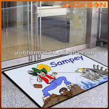 anti slip cartoon door tapete