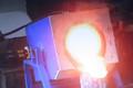rotante stile piccolo forno di fusione a induzione forno per la vendita