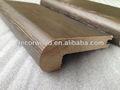 Cepillo de alambre de arce sólido de madera de la escalera husmeando GuangZhou