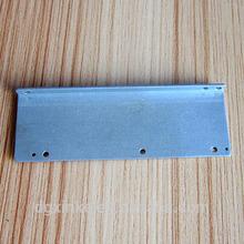 Sheet metal compress formed slotted support shelf bracket