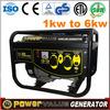 LIFAN Generator 4kw 4kva generator inverter 220v ruedas single phase ac generator for sale ZH5500FS