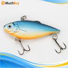 30pcs in 1 Set Hard Plastic Small Fish Shape Lure Treble Metal Fish Hooks