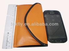 Imitation leather envelope type mobile phone shielding bag