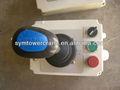 La grúa torre de control de las unidades de/joystick