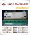 Jugao qc11y- 20x2500 hidráulica guillotina de metal