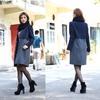 latest girls fashion woolen coat for korean style