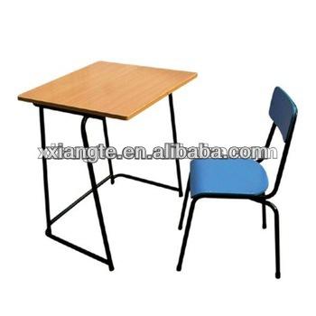 Student desk and chair set single school desk with chair - Student desk and chair set ...