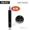 PaiPu ego twist battery 1300 mah ego spinder vv variable voltage twist battery factory