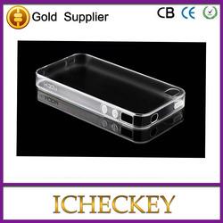 transparent silicone case for iphone 5 iphone 5s transparent case