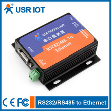 Serial to Ethernet server/rs232 to rj45 ethernet converter--with power adapter