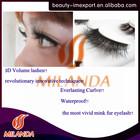 3D mink fur eyelashes