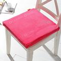 Gros haute qualité Best Selling velours confortable carré coussins de siège