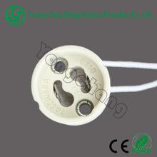 GU10 ceramic base for halogen lighting