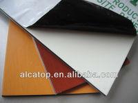 Plastic and aluminium roof panel 1